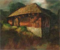 Bauernhaus_60x50_oil on canvas