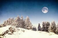 Full moon in Winter II