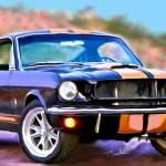 """1966 GT 350 H"" by ArtbySachse"
