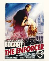 The Enforcer Movie Poster - Bogart, Mostel