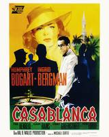 Casablanca Movie Poster - Bogart, Bergman