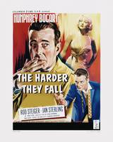 The Harder They Fall Movie Poster - Bogart