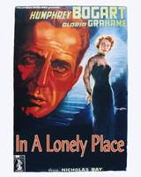 In a Lonely Place Movie Poster - Bogart, Grahame