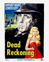Dead Reckoning Movie Poster - Bogart, Scott