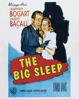 The Big Sleep Movie Poster - Bogart, Bacall