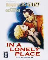 In a Lonely Place Movie Poster - Bogart and Gra
