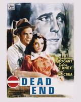 Dead End Movie Poster - Humphrey Bogart, Sylvia Si