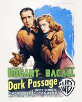 Dark Passage Movie Poster - Bogart, Bacall