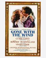 Gone With the Wind Movie Poster - Gable, Leigh