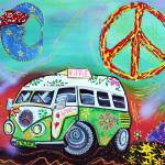 """Hippie Trip"" by ArtPrints"
