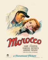 Morocco Movie Poster - Cooper, Dietrich
