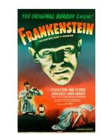 Frankenstein Movie Poster Boris Karloff