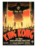 King Kong Movie Poster - Fay Wray