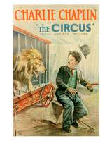 The Circus Movie Poster - Charlie Chaplin