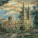 """""""San Sebastian Church 1800s"""" by JoeyAgbayani"""