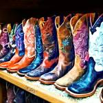 """Cowboy Boots"" by susansartgallery"
