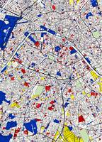 Paris - Mondrian Style detailed