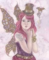 steampunk fairy-surreal fairies