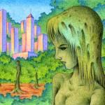"""Greening city"" by t-koni"