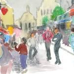 """""""Near Montmartre"""" by KayArtiste"""