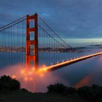 Golden Gate Bridge Art Prints & Posters by John Souza