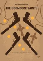 No419 My BOONDOCK SAINTS minimal movie poster
