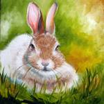 """BUNNY"" by MBaldwinFineArt2006"
