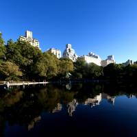 """Reflections at the Boat Pond in Central Park"" by New Yorkled"