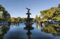 Central Park's Bethesda Fountain and Angel