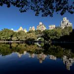 """Reflections at the Boat Pond in Central Park"" by New-Yorkled"