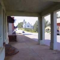 Watkinsville Main Street Art Prints & Posters by Tim Beasley