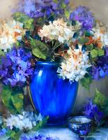 New Day Blue Hydrangeas