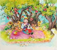Rosh Hashana under the Apple Tree