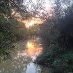 """River Medway Sunset"" by Carl"