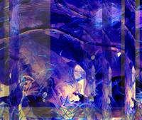 Purple Abstraction 2