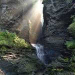 Hopeful Rays Spotlight Minnehaha Falls