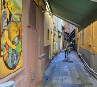 Alley in Nice, France
