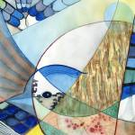 """The Brilliant Blue Jay"" by DavidRalph"