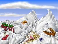 Whipped Cream Mountains