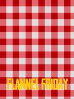Flannel Friday Artistic Poster Print Art 4