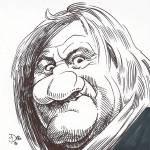 """""""Gérard Depardieu"""" by odea"""