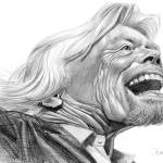 """Richard Branson, Virgin."" by odea"
