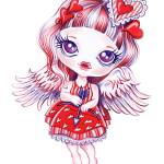 """""""Valentina"""" by sandygrafik_arts"""
