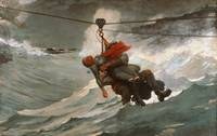 Winslow Homer, American - The Life Line