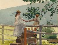 Winslow_Homer_- On the Stile, c. 1878