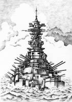 Battleship that was revived
