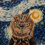 """Starry Night Owl"" by waynecantrell"