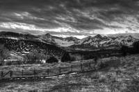 San Juan Mountains BW