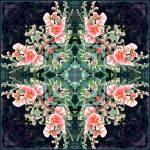 """""""Hollyhock Mandala"""" by judystalus"""