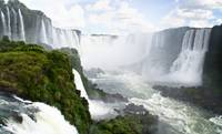 Devil's Throat Waterfall, Iguazu,Brazil,Argentina